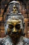 Πρόσωπο του γλυπτού Shiva Στοκ φωτογραφία με δικαίωμα ελεύθερης χρήσης