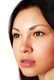 Πρόσωπο του νέου κοριτσιού Στοκ Εικόνες