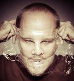 Πρόσωπο φρίκης Στοκ εικόνα με δικαίωμα ελεύθερης χρήσης
