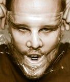 Πρόσωπο φρίκης Στοκ Φωτογραφία