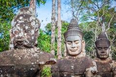 Πρόσωπο Angkor Wat/Angkor Thom Καμπότζη Στοκ φωτογραφίες με δικαίωμα ελεύθερης χρήσης