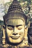 Πρόσωπο Angkor Wat/Angkor Thom Καμπότζη Στοκ Εικόνες
