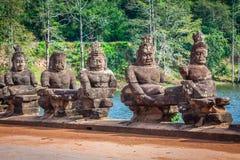 Πρόσωπο Angkor Wat/Angkor Thom Καμπότζη Στοκ φωτογραφία με δικαίωμα ελεύθερης χρήσης