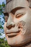 Πρόσωπο Angkor Wat/Angkor Thom Καμπότζη Στοκ εικόνα με δικαίωμα ελεύθερης χρήσης