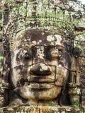 Πρόσωπο Bayon σε Ankor Thom Στοκ φωτογραφία με δικαίωμα ελεύθερης χρήσης