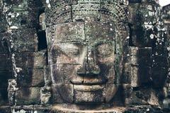 Πρόσωπο Bayon στην Καμπότζη Στοκ φωτογραφίες με δικαίωμα ελεύθερης χρήσης
