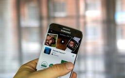 Πρόσωπο Garmin αυτό app Στοκ Εικόνες