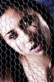 πρόσωπο goth Στοκ εικόνα με δικαίωμα ελεύθερης χρήσης