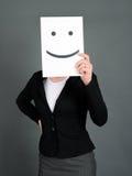 Πρόσωπο Smiley στοκ φωτογραφία με δικαίωμα ελεύθερης χρήσης
