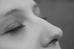 πρόσωπο womans Στοκ εικόνες με δικαίωμα ελεύθερης χρήσης