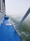 πρόσδεση του σκάφους στοκ φωτογραφία