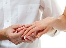 πρόταση γάμου Στοκ Φωτογραφίες