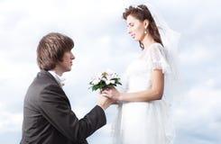 Πρόταση του γάμου Στοκ φωτογραφία με δικαίωμα ελεύθερης χρήσης