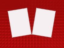Πρότυπα γραμματοσήμων Στοκ Εικόνες