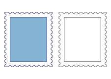 πρότυπα γραμματοσήμων Στοκ Φωτογραφία