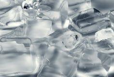 πρότυπα γραμμών πάγου ανασκόπησης Στοκ φωτογραφίες με δικαίωμα ελεύθερης χρήσης