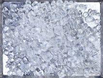 πρότυπα γραμμών πάγου ανασκόπησης Στοκ Φωτογραφίες