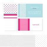 Πρότυπα επαγγελματικών καρτών Στοκ Εικόνες
