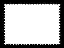 Πρότυπα κενά γραμματοσήμων Στοκ εικόνες με δικαίωμα ελεύθερης χρήσης
