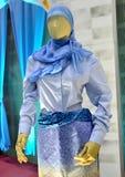Πρότυπα μουσουλμανικά ενδύματα Στοκ εικόνα με δικαίωμα ελεύθερης χρήσης