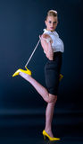πρότυπα παπούτσια μόδας κίτ&r Στοκ Εικόνες