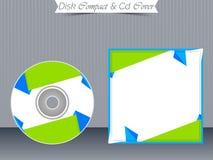 Πρότυπα περίπτωσης κοσμημάτων του CD ή DVD Στοκ Φωτογραφίες