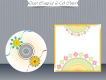 Πρότυπα περίπτωσης κοσμημάτων του CD ή DVD Στοκ φωτογραφία με δικαίωμα ελεύθερης χρήσης