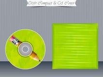 Πρότυπα περίπτωσης κοσμημάτων του CD ή DVD Στοκ φωτογραφίες με δικαίωμα ελεύθερης χρήσης