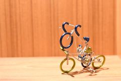 Πρότυπα ποδηλάτων και περιοχές κειμένων στοκ εικόνες