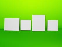 Άσπρο υπόβαθρο καμβά απεικόνιση αποθεμάτων
