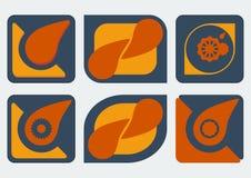 Πρότυπα σχεδίου λογότυπων Στοκ φωτογραφία με δικαίωμα ελεύθερης χρήσης