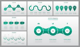 Πρότυπα φωτογραφικών διαφανειών παρουσίασης Στοκ εικόνες με δικαίωμα ελεύθερης χρήσης