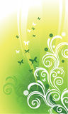 πρότυπα χλωρίδας Ελεύθερη απεικόνιση δικαιώματος