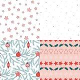 πρότυπα Χριστουγέννων άνε&upsil απεικόνιση αποθεμάτων