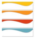 Πρότυπα Infographic για το επιχειρησιακό διάνυσμα Στοκ Εικόνες