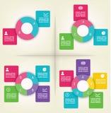 πρότυπα infographics διανυσματική απεικόνιση