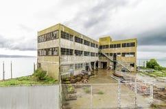 Πρότυπες βιομηχανίες Alcatraz που χτίζουν, Σαν Φρανσίσκο, Καλιφόρνια Στοκ εικόνες με δικαίωμα ελεύθερης χρήσης