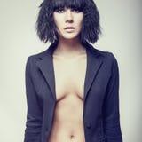 πρότυπη γυναίκα μόδας Στοκ εικόνα με δικαίωμα ελεύθερης χρήσης