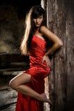πρότυπη γυναίκα μόδας Στοκ φωτογραφίες με δικαίωμα ελεύθερης χρήσης