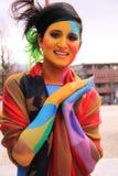 Πρότυπη θέτοντας οδός χρωμάτων σώματος Στοκ Φωτογραφία