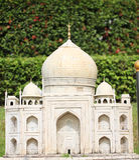 Πρότυπη προσομοίωση Taj Mahal Στοκ Εικόνες