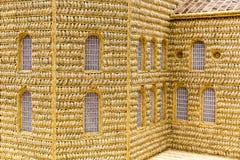 Πρότυπη τέχνη εκκλησιών σίτου Στοκ φωτογραφία με δικαίωμα ελεύθερης χρήσης