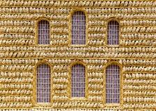 Πρότυπη τέχνη εκκλησιών σίτου Στοκ Εικόνες