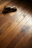 πρότυπος αναδρομικός ξύλ&iota Στοκ Εικόνα