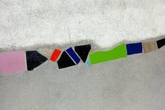 πρότυπος Βιέννη τοίχος της  Στοκ Εικόνες