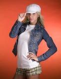 πρότυπος εφηβικός μόδας Στοκ Εικόνα