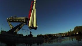 Πρότυπος πύραυλος Vostok σε VDNH φιλμ μικρού μήκους