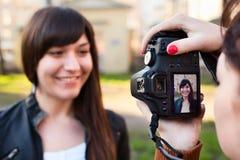 πρότυπος φωτογράφος που στοκ εικόνα με δικαίωμα ελεύθερης χρήσης