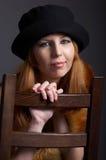 πρότυπος redhead γουνών Στοκ φωτογραφίες με δικαίωμα ελεύθερης χρήσης