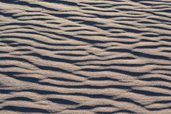 Πρότυπο άμμου ανασκόπησης Στοκ φωτογραφίες με δικαίωμα ελεύθερης χρήσης